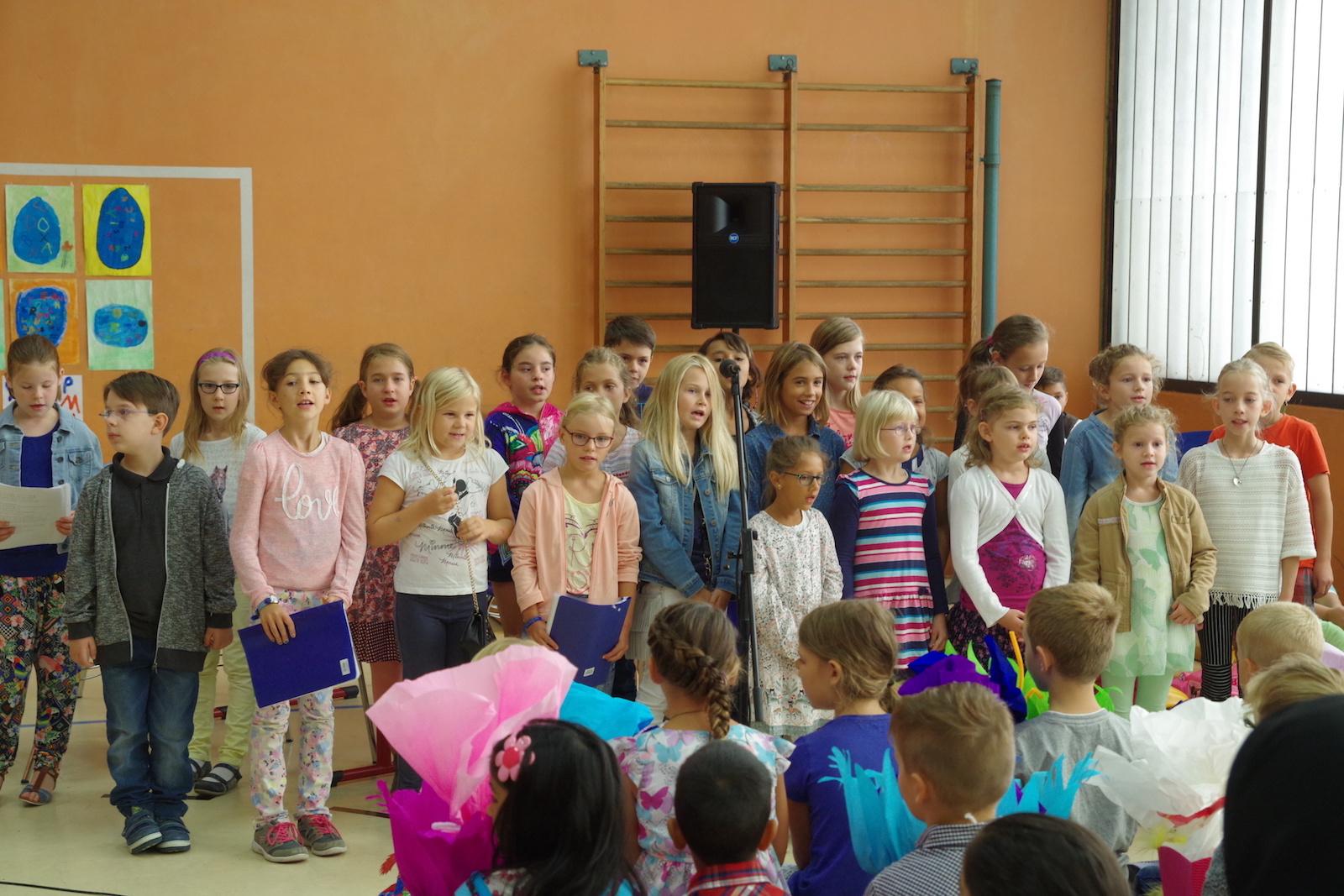 Einschulungsfeier 2016 Friedrichschule Durmersheim