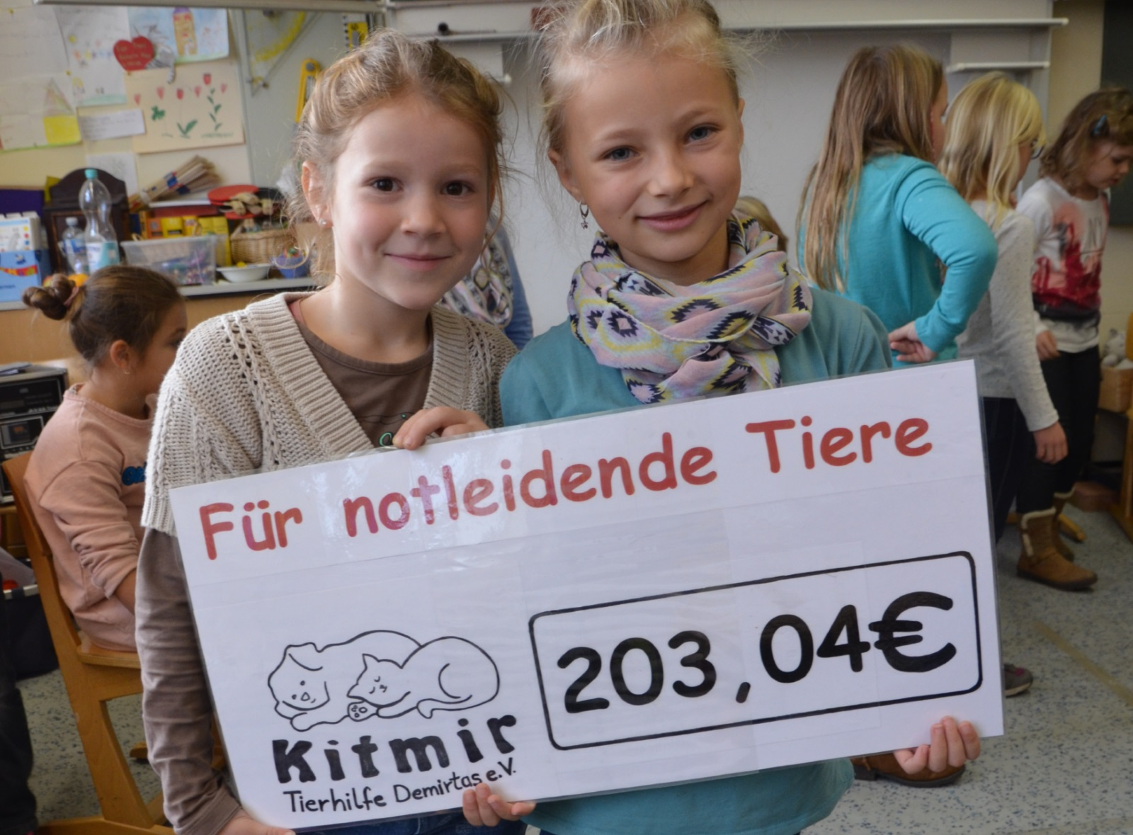 Spendenaktion Friedrichschule Durmersheim