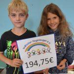 Wir spenden 194,75€ dem Indischen Regenbogen