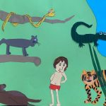 """Idee für den """"Kunstunterricht zu Hause"""" von Luca"""